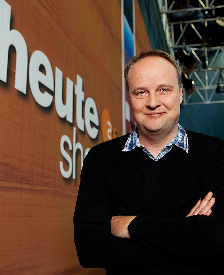 Moderator Oliver Welke - heute-show - ZDF