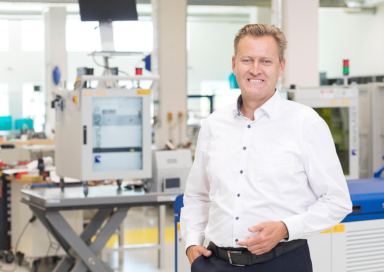 Unternehmer-Portrait, Clean-Lasersysteme GmbH